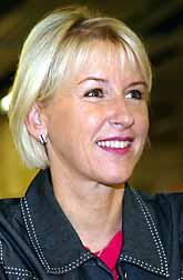 Margot Wallström. Foto: Pressens Bild