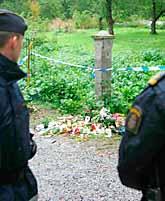 En 14-årig kille mördades i helgen i Sollentuna. Foto: Stefan Söderström/PrB