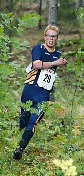 Niclas Jonasson på väg mot VM-guld. Foto: Bertil Ericson/PrB