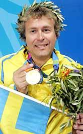 Jonas Jacobsson vann OS-guld i skytte. Foto: Jonas Ekströmer/PrB.