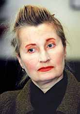 Elfriede Jelinek. Foto: Pressens Bild