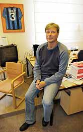 Lars Ohly ber om ursäkt. Foto: Pressens Bild
