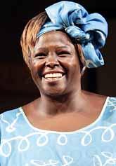Wangari Maathai från Kenya  får Nobels fredspris i år. Foto: Tor Richardsen/PrB.