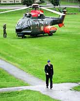 Regementet Amf4 i Göteborg är ett av de regementen som ska stängas. Foto: Niklas Larsson/PrB