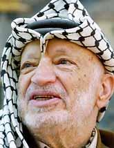 Yassir Arafat är död. Nu kommer nya ledare att styra palestinierna. Foto: Muhammed Muheisen/Pressens Bild