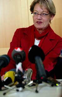 Gudrun Schyman slutar i vänsterpartiet. Foto: Pontus Lundahl/PrB