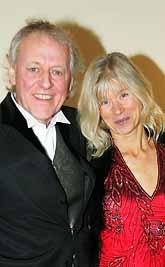 I måndags var Kay Pollack och hans fru på den svenska filmgalan. Då blev det inget pris. Nu kan han få en Oscar istället. Foto: Jack Mikrut/PrB
