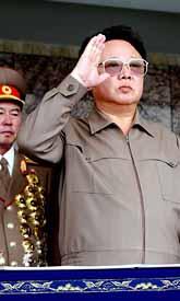 Kim Jong Il är Nordkoreas ledare. Foto: Pressens Bild
