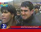 Jordbävningen i Iran har dödat och skadat många. Foto: Pressens Bild