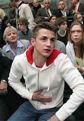 Calle Jonsson är glad och lättad. Den grekiska domstolen sade att han är oskyldig. Foto: Erich Stering/Pressens Bild