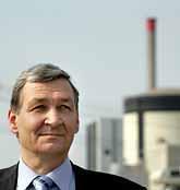 Jan Edberg är Ringhals högsta chef. Han är förvånad över miljödomstolens dom. Foto: Niklas Larsson/PrB.