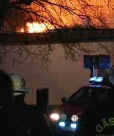 Polisen tror att någon tände eld på hotellet i Gävle. Foto: Kenneth Gyld/PrB