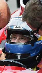 Kenny Bräck ska köra loppet Indy 500 lördagen den 28 maj. Foto. Darron Cummings/PrB