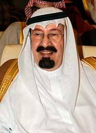 Kronprins Abdullah blir ny kung i Saudiarabien. Den förre kungen, Fahd, dog på måndagen.