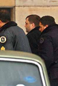 Milan Lukic greps av polis i Argentina. Foto: Garcia Medina/PrB