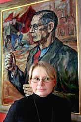 Pernilla Zethraeus stannar kvar i vänsterpartiet men slutar sitt jobb som partisekreterare. Foto: Sven-Erik Sjöberg/Pressens Bild