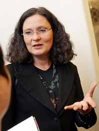 Ebba Witt-Brattström lämnar fi efter bråk i styrelsen. Foto: Jonas Ekströner/PrB