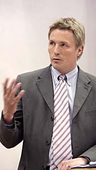 Justitieminister Thomas Bodström. Foto: Bertil Ericson/PrB
