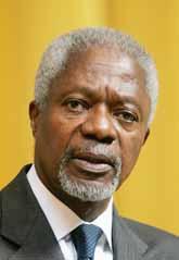 Kofi Annan vädjar om mer hjälp till Pakistan. Foto: Pressens Bild