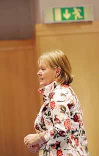 Systembolagets chef Anitra Steen. Foto: Jonas Ekströmer/PrB.