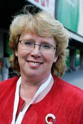 Centerpartisten Lena Ek är mycket nöjd med EUs förslag till nya regler för farliga ämnen. Foto: Nils Petter Nilsson/PrB