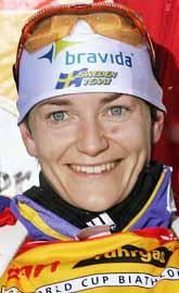Anna Carin Olofsson vann världscuptävlingen i Österrike. Foto: Kerstin Jönsson/PrB.