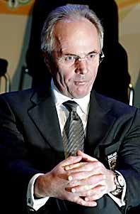 Sven-Göran Eriksson måste sluta efter fotbolls-VM. Foto: Claudio Bresciani/PrB