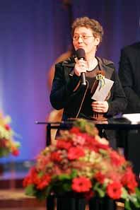 Nina Einhorn fick pris för bästa film. Bilden är tagen vid ett annat tillfälle. Foto: Erich Stering/Pressens Bild