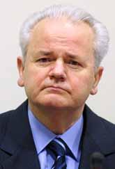 Slobodan Milosevic hade ett svagt hjärta och dog i lördags. Senare i år skulle domstolen har bestämt om han var skyldig eller inte till anklagelserna om krigsbrott. Foto: Fred Ernst/Pressens Bild