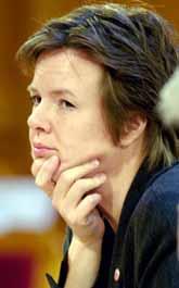 Många tror att Carin Jämtin blir ny utrikesminister. Foto: Leif R Jansson/PrB.