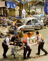 Nio personer dödades av bomben i Tel Aviv i Israel. Foto: Nir Kafri/PrB