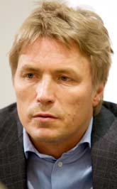 Justitieminister Thomas Bodström. Foto: Drago Prvulovic/PrB