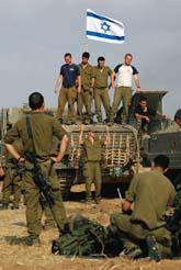 Israeliska soldater i Gaza-området. Foto: Pressens Bild