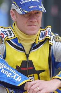 Tony Rickardsson har fått nog av speedway. Foto: Bobby Lauhage/Pressens Bild