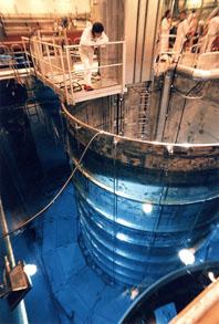 En bild från Oskarshamns kärnkraftverk. Foto: Leif Engberg/Pressens Bild