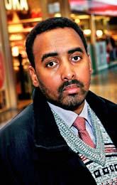 Ahmed Yusuf har i fem år inte fått resa utanför Sverige eller använda sina bankpengar. Foto: Lars Epstein/Pressens Bild