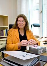 Kulturminister Cecilia Stegö Chilò. Foto: Leif R Jansson/Scanpix