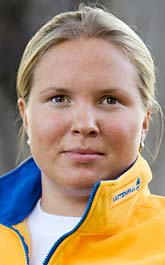 Anja Pärson får fint pris. Foto: Sören Andersson/Scanpix