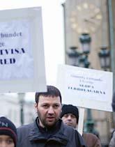 Demonstration i Göteborg till stöd för Hassan Asad. Foto: Björn Larsson Rosvall/Scanpix
