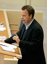 Arbetsmarknadsminister Sven Otto Littorin. Foto: Bertil Ericson/Scanpix.