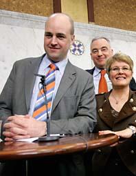 Regeringen är överens om att ta bort fastighetsskatten. Foto: Bertil Ericson/Scanpix