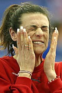 Höjdhopparen Venelina Veneva har varit dopad när hon tävlat. Foto: Jon Super /Scanpix