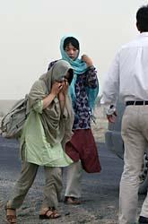 Två av de sydkoreaner som suttit fångna hos talibaner släpptes i måndags. Foto: Musadeq Sadeq/AP