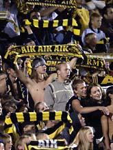 Nu får klubbarna lättare att stoppa bråkiga fotbollsfans. Foto: Janeric Henricsson/Scanpix