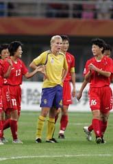 Sverige är utslaget ur fotbolls-VM Foto: Saurabh Das/Scanpix