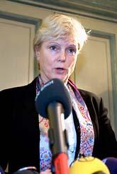 Karin Forseke slutar som rådgivare åt regeringen efter skandalen i Carnegie. Foto: Roger Vikström/Scanpix