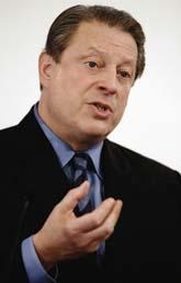Fredspristagaren Al Gore. Foto: Scanpix