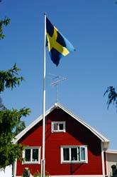 Skatten på hus kan bli högre än regeringen lovat. Foto: Hasse Holmberg/Scanpix
