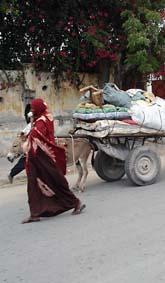 Människor som bor i staden Mogadishu i Somalia flyr från sina hem. Foto:Farah Abdi Warsameh/Scanpix