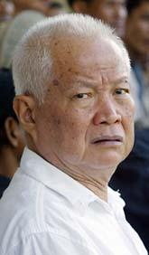 Khieu Samphan är en av de ledare som kan dömas i domstolen i Kambodja. Foto: Scanpix